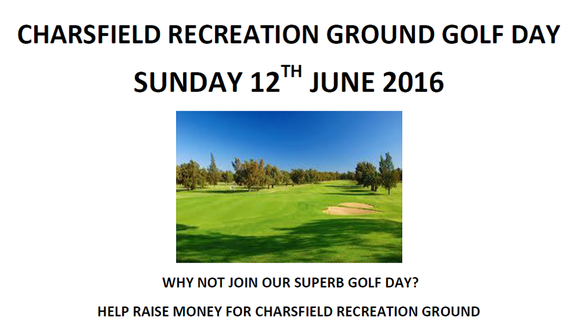Charsfield Golf Day 2016